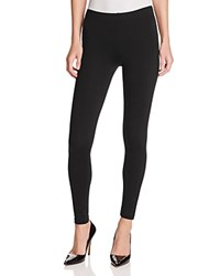 Aqua Back Yoke Leggings Black