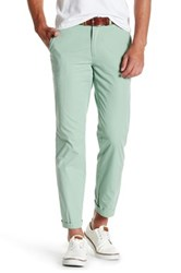 Tailorbyrd Flat Front Chino Pant 30 34 Inseam Green