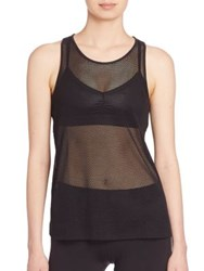 Alo Yoga Lucid Mesh Tank Top Black