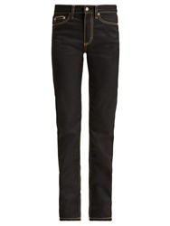 Eytys Cypress High Waisted Twill Jeans Black