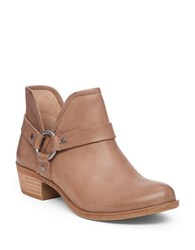 Lucky Brand Harness Ankle Booties Tan
