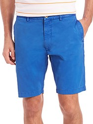 Robert Graham Journeyman Woven Shorts Blue