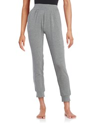 Lord And Taylor Knit Pajama Pants Grey