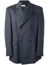 Gigli Vintage Double Breasted Coat Grey