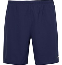Nike Running Phenom Two In One Perforated Dri Fit Shorts Royal Blue