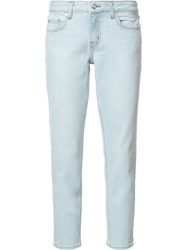 Derek Lam 10 Crosby Super Light Wash Jeans Blue