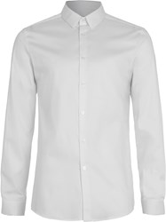Topman Premium Egyptian Cotton Smart Shirt White
