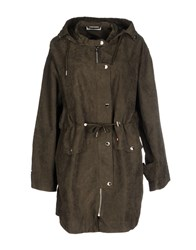 Noisy May Coats And Jackets Full Length Jackets Women Military Green