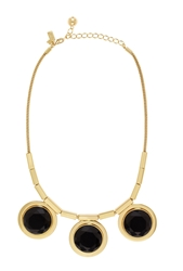 Kate Spade Polish Up Necklace Black