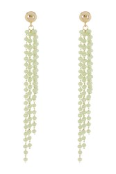 Vince Camuto Beaded Waterfall Earrings Gold 01
