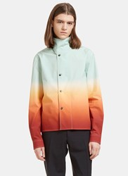J.W.Anderson Ombre Shirt Jacket Green