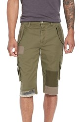 Hudson Jeans Slim Fit Cargo Shorts Army Green 2