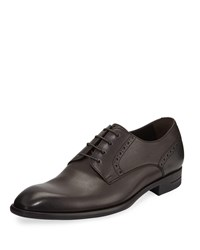 Ermenegildo Zegna New Flex Derby Shoes Brown