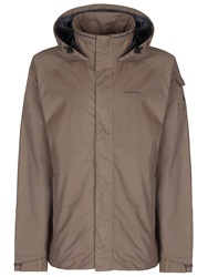 Craghoppers Casual Full Zip Overcoat Taupe