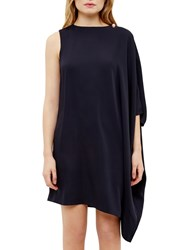 Ted Baker Aubreey Draped Side Tunic Dress Dark Blue