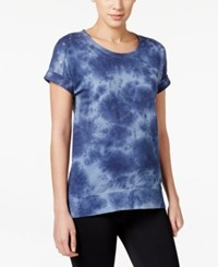 Styleandco. Style And Co. Tie Dyed Sweatshirt Only At Macy's Royal