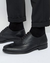 Selected Homme Oliver Brogue Shoes Black