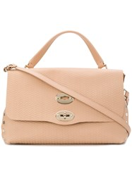 Zanellato Postina M Cachemire Blandine Bag Calf Leather Nude Neutrals