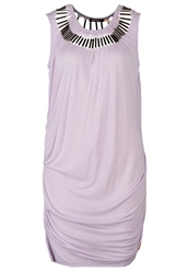 Khujo Insa Jersey Dress Levender Purple
