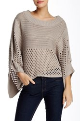 Planet Modern Fisherman Sweater Beige