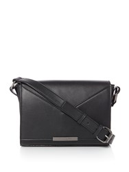 Kenneth Cole Gramercy Crossbody Bag Black