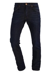 Wrangler Greensboro Straight Leg Jeans Rinse Resin Rinsed Denim
