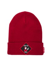 Clot Go To Hell Beanie Red