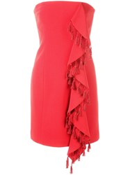 Cinq A Sept Nat Dress Red