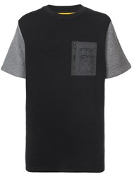 Mostly Heard Rarely Seen Quilted Back T Shirt Black