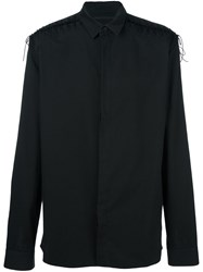 Haider Ackermann Shoulders Detail Shirt Black