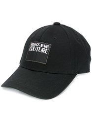 Versace Jeans Couture Twill Baseball Cap Black