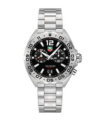 Tag Heuer Formula 1 Fine Brushed Steel Bracelet Watch Waz111aba0875 Silver