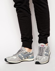 Gola Spirit Camo Trainers Grey
