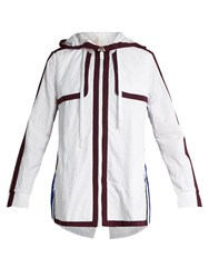 No Ka' Oi Walu Zip Through Performance Jacket White Multi