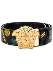 Versace Medusa Head Belt Black
