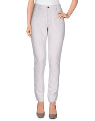 Met Denim Denim Trousers Women Light Grey