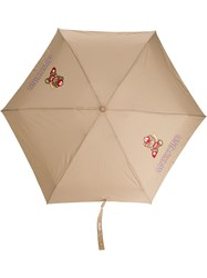 Moschino Baseball Themed Teddy Motif Print Umbrella 60
