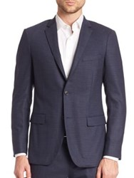 Theory Slim Fit Micro Grid Sportcoat Victory