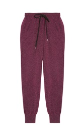 Markus Lupfer Lurex Jogging Trousers Purple