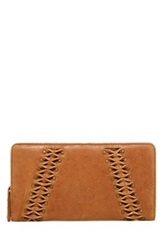 Lucky Brand Pomona Large Credit Card Wallet Brown