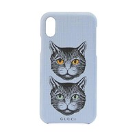Gucci Iphone X Xs Case With Mystic Cat Lilac