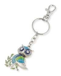 Neiman Marcus Owl On Branch Key Chain