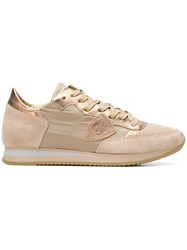 Philippe Model Tropez Basic Sneakers Nude And Neutrals
