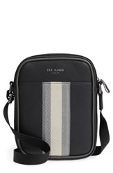Ted Baker London Webbing Mini Flight Bag Black