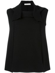 Stefano Mortari Sleeveless Sweater Black