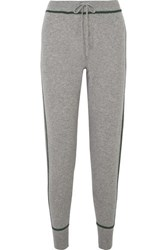 Madeleine Thompson Dormouse Cashmere Track Pants Gray