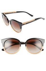 Tory Burch Women's 'Phantos' 53Mm Retro Sunglasses