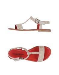 Cesare Paciotti Sandals Light Grey