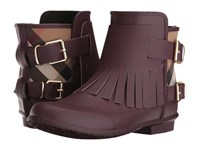 Burberry Fritton Oxblood Women's Boots Red