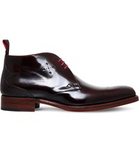 Jeffery West Liddy Leather Chukka Boots Brown